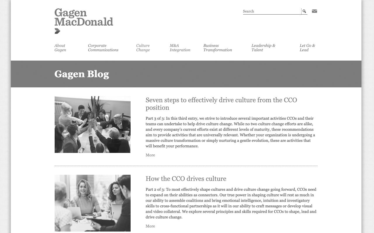 Gagen MacDonald Blog